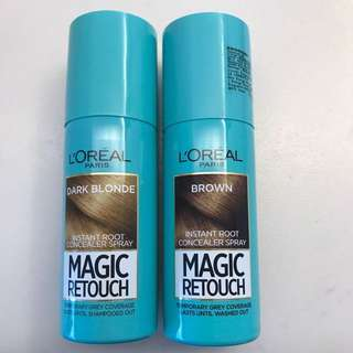 BN / LIGHTLY USED LOREAL TEMPORARY HAIR COLOR SPRAY