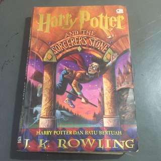 Novel Harry Potter And The Sorcerers Stone