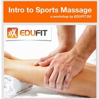 Workshop: Intro to Sports Massage