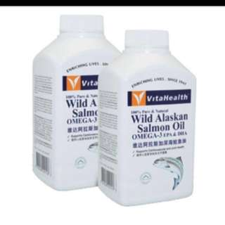 🎄Ready Stocks - VitaHealth Wild Alaskan Salmon Oil