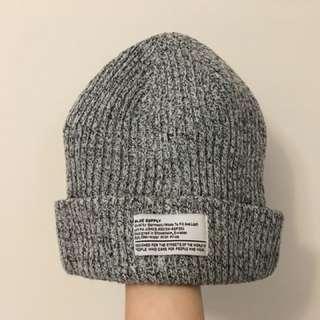 灰黑混色針織帽 H&M