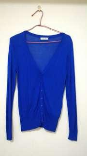 🚚 寶藍色薄外套