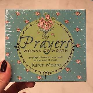 Brand New Prayer Cards for Woman