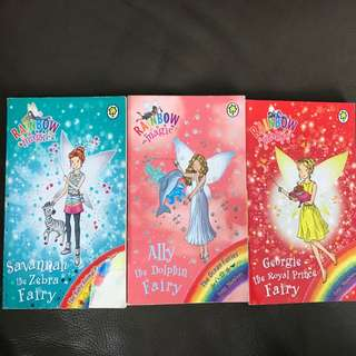 Rainbow Magic. Darcy the Dance Diva Fairy. Leah the Theatre Fairy
