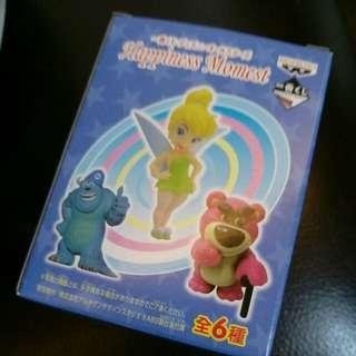🚚 迪士尼公仔 小仙子 熊抱哥 毛怪 大眼仔 史迪奇 愛莉絲