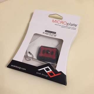 Peak Design MICROplate 全新未開盒