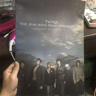 TVXQ 2nd asia concert book