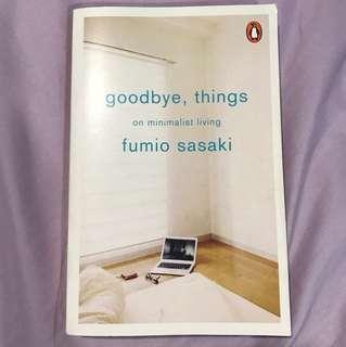 Goodbye things by Fumio Sasaki