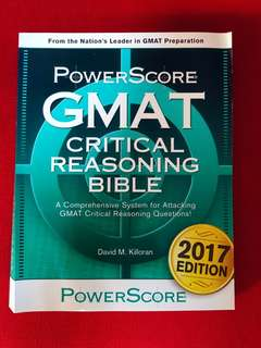 PowerScore GMAT (Critical Reasoning Bible)