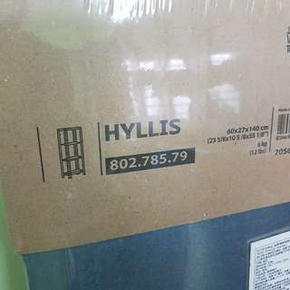 IKEA Hyllis Metal Shelving Unit