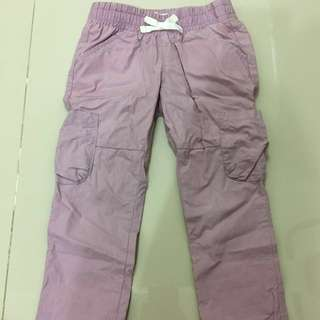 {小童}二手old navy女孩工作褲 紫色 100cm(3Y)
