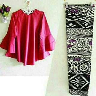 Set batik mona