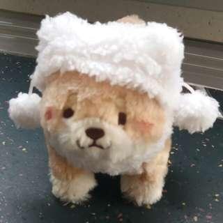 正版! 忠犬 冬天版 粉紅色