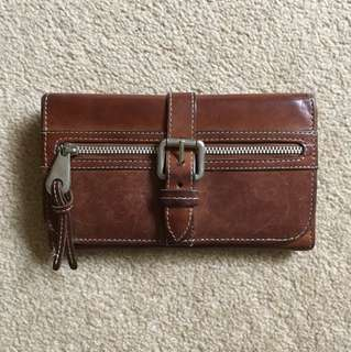 Country Road brown leather wallet
