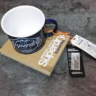 🚚 全新超特惠 Superdry Expedition 琺瑯杯 聖誕深藍 交換禮物
