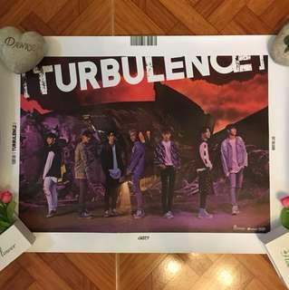 Got7 Turbulence poster