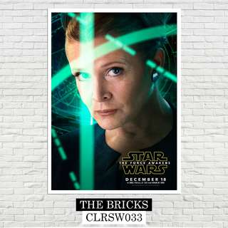 The Force Awakens Star Wars Poster (A4 Size)
