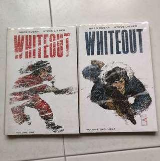 Whiteout Vols. 1 & 2 by Greg Rucka