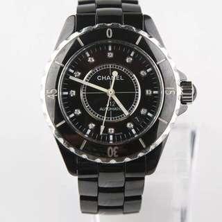 J12- Black Chanel