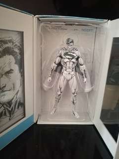 Superman figure dc blueline edition jim lee
