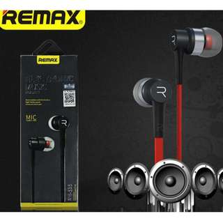 Remax Electronic Headset RM535 Mic Stereo Earphones