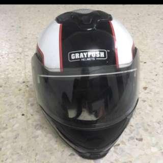 Helmet grayfosh fullface