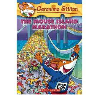 Geronimo Stilton #30 The Mouse Island Marathon