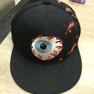 黑色眼球造型帽