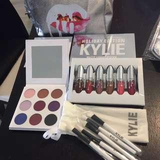 Kylie Jenner holiday makeup set