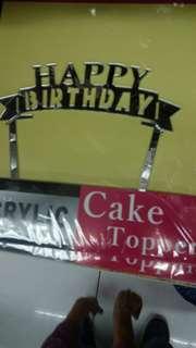 acrilic cake tage