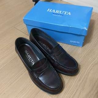 🚚 日製 HARUTA 4603 制服鞋 學生鞋 皮鞋 高校 中跟 JK 正統