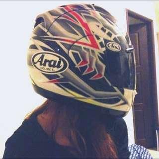 Arai RR4 選手彩繪帽