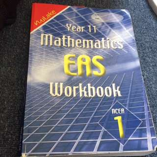 Year 11 Maths workbook