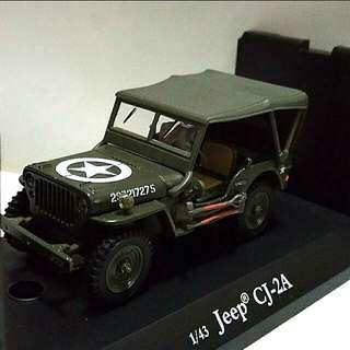 二戰美軍吉甫車模型