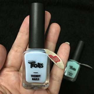 Brand New Trolls The Faceshop Nail Polish