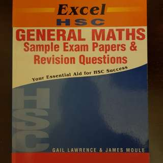 Excel HSC General Maths Sample Papers