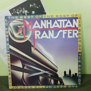 Manhattan Transfer LP with Japan Song Text
