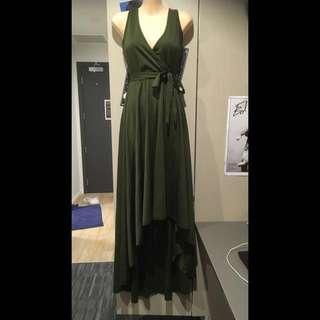 Green Ball Dress