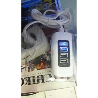 Usb Charger 3in1 cas Travel charging