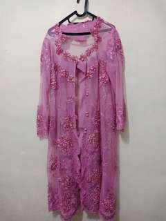 Kebaya pink, size XL