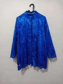 Kebaya Biru, size XL