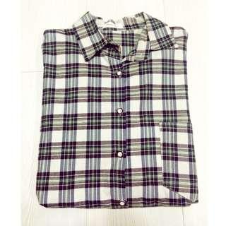 🚚 Queen Shop長寬版格子襯衫