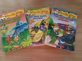 Geronimo Stilton  Christmas SALES