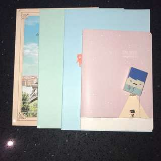Assorted Notebooks