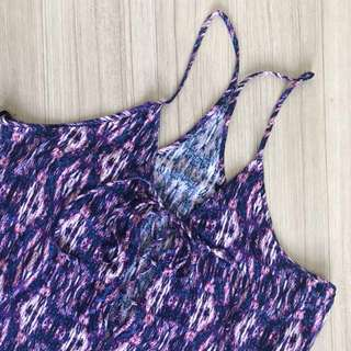 Forever 21 Printed Long Dress