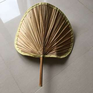 All Nature Bamboo Fan