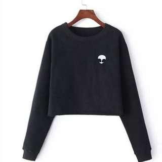 Black Alien Pullover