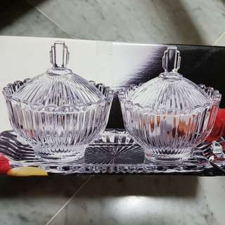 Aderia Glass Candy box New
