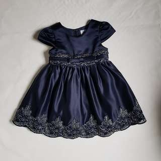 Premium Dark blue girl dress (