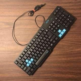 FoxRay 迅疾戰狐電競鍵盤